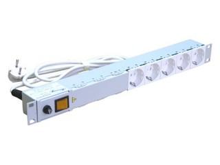 Блок розеток на 5 розеток с выключателем