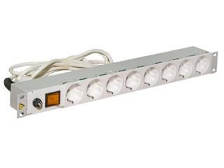 Блок розеток на 8 розеток с выключателем