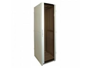 Шкаф напольный со стеклянной дверцей