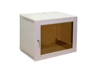 Шкаф навесной 9U со стеклянной дверцей
