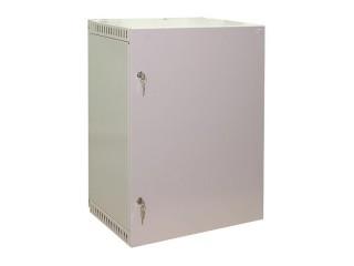 Шкаф навесной 15U с металлической дверцей