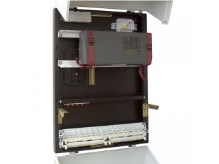 Пример монтажа оборудования в шкаф