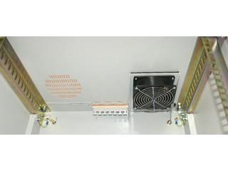 Установка вентилятора в навесной шкаф