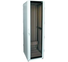 "Шкаф напольный 19"" 42U дверь стекл./мет. (600 х 1000 х 2100)"