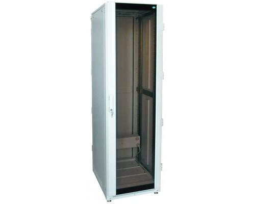 "Шкаф напольный 19"" 42U дверь стекл./мет. (600 х 600 х 2100)"