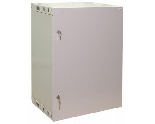 """Шкаф настенный 19"""" 15U дверь металлическая   (560 х 400 х 710)"""