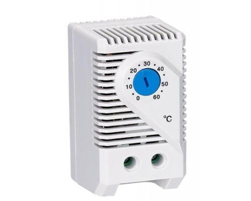 Термостат (0-60С) для вентилятора (навесной шкаф)