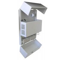 "Шкаф настенный 19"" SmartLine (520 х 210 х 750)"
