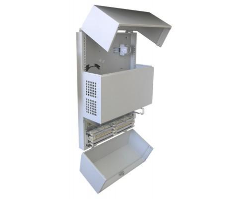 "Шкаф настенный 19"" SmartLine (520 х 210 х 1012)"