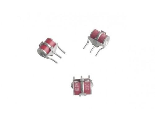 Трехполюсный разрядник с термоконтактом 230V (8x13) MK,T